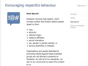 hate speech fb
